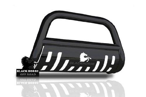 "2008 2009 2010 Jeep Grand Cherokee 2.5"" Black Bull Bar w/ Skid Plate"