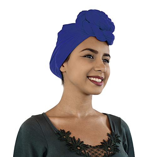 Lermity Turban Stretch Head Wrap Scarf Jersey Knit extra long 70