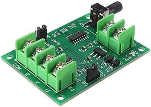 ZT-TTHG 5V-12VのDCブラシレスモータドライバボードコントローラフィット感のためのハードドライブモーター3/4ワイヤースポットSteuermodul