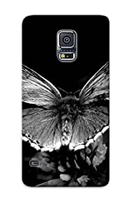 For Galaxy S5 Premium Tpu Case Cover Black And White Protective Case