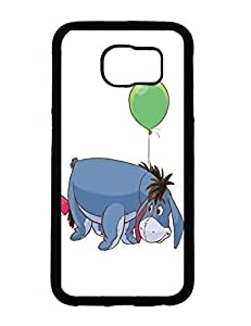 Caitlin J. Ritchie's Shop 5397720M595001107 Stylish Designed Hardshell Case for Samsung Galaxy S6 With Winnie the Pooh Image Printed Phone case