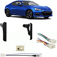 Fits Subaru BRZ 2013 Double DIN Aftermarket Harness Radio Install Dash Kit