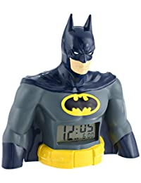 DC Comics BAT3031 - Reloj despertador con visualización digital, Batman LCD