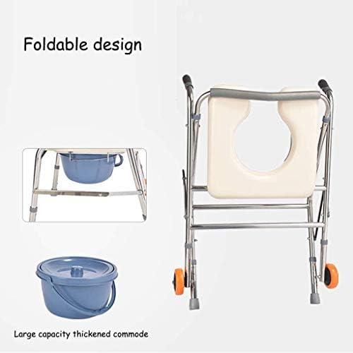 トイレ椅子 ポータブルトイレ 高齢者 ウォーキングフレーム、風呂椅子、上げトイレは高齢者妊婦障害者のための適切な椅子