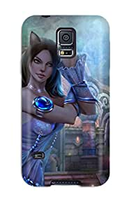 New Style 2377599K71261488 Cute Appearance Cover/tpu Women Case For Galaxy S5