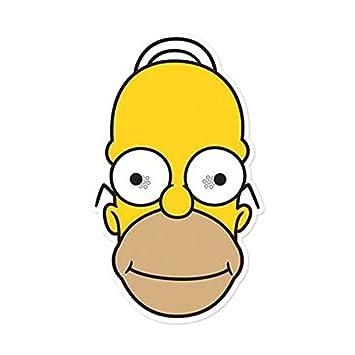 Star Cutouts Stsm144 Masque Pour Adulte Homer Les