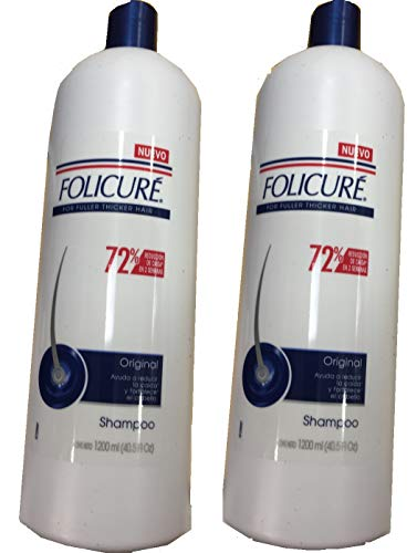 FOLICURE SHAMPOO 40oz (2 Pack) for sale  Delivered anywhere in USA