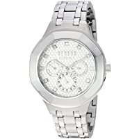Versus by Versace Women's 'Laguna City' Quartz Stainless Steel Casual Watch, Color:Silver-Toned (Model: VSP360417)
