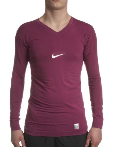 Homme En T shirt fit Avec Col Dri Violet Pro Pour Longues V Manches Nike 4H6vw6