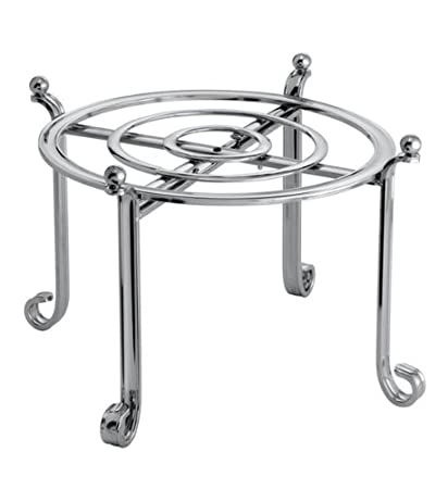 Serving Stand and Dinner Plate Holder Chrome  sc 1 st  Amazon.com & Amazon.com | Serving Stand and Dinner Plate Holder Chrome: Display ...