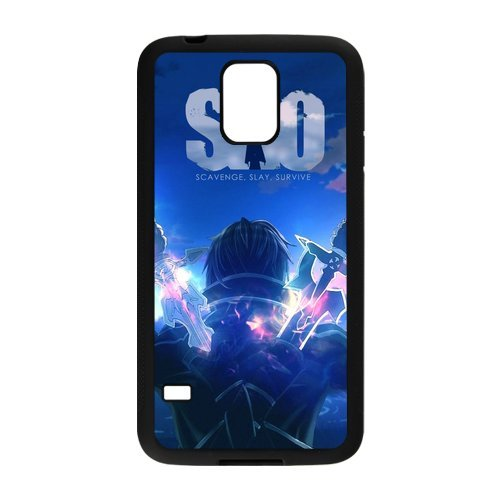Galaxy S5 Funda, Sword Art Online Sao Diseño Silicona ...