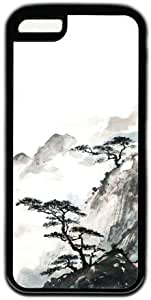 Chinese Landscape Painting Theme for ipod Touch 4 Case