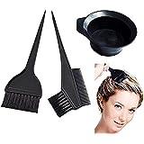Cotton Fly 3 Pcs Professional Salon Hair Coloring Dyeing Kit - Dye Brush & Comb/Mixing Bowl/Tint Tool by Marketing Eye USA Inc.