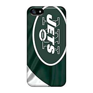 Hot XgE4818uDuz New York Jets Tpu Case Cover Compatible With Iphone 5/5s