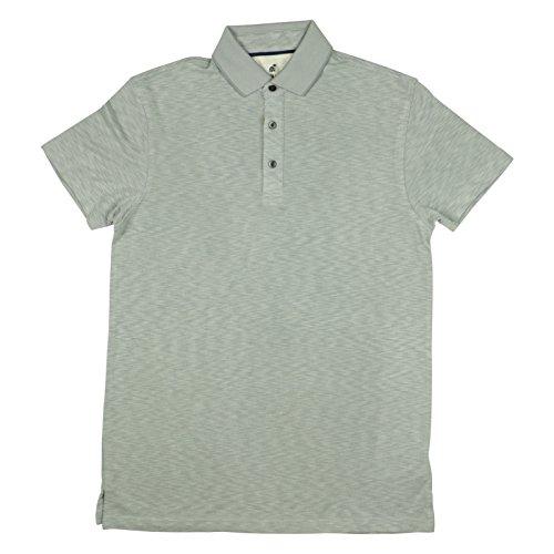 Caribbean Joe Mens Collared Polo Shirt Medium Medium Grey