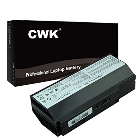 989f28cd3c91 CWK High Performance Battery for Asus G73J Series Laptop Notebook Computer  PC Asus 90-NY81B1000Y [8-Cell 14.8V] 24 Months Warranty