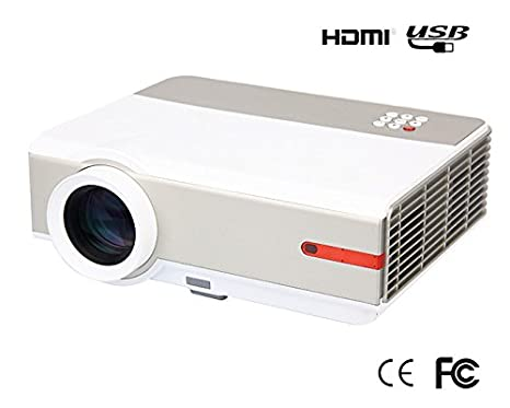FR S90 1080P 5000 Lumens Full HD 10000: 1 LED LCD Proyector HDMI ...