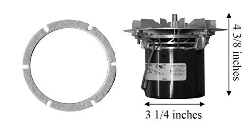 Kozi 100 Pellet Stove Exhaust Combustion Motor Blower w/ Gasket - 10-1114 MFR by KOZI
