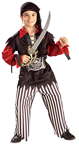 Sea Captain Pirate Costumes (Rubie's Costume Sea Captain Pirate Costume, One Color, Large)