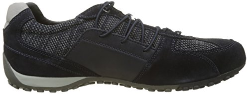 Geox Men's Uomo Snake D Trainers, Blue Blue (Navy C4002)