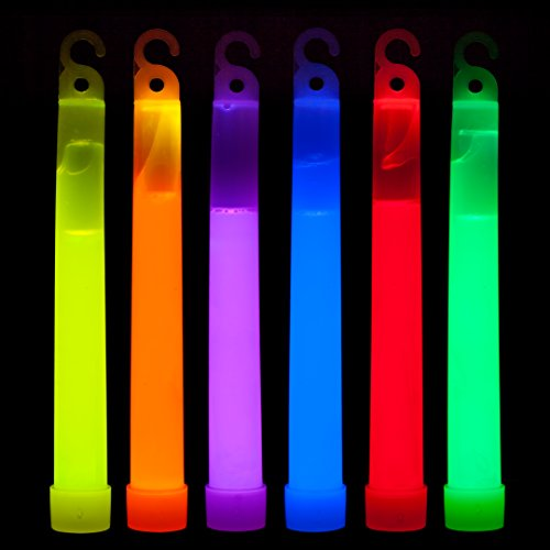 Glow In The Dark Party Sticks make fun camping activities kids love and adults will too to keep from being bored with fun camping ideas for kids