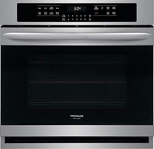 Frigidaire Gallery 30″ Smdge-Proof Stainless Steel Single Electric Wall Oven