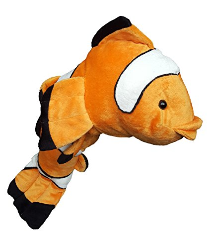 Cuddly Soft 16 inch Stuffed Clown Fish…We stuff 'em…you love 'em!