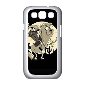 Lone ranger Image On The Samsung Galaxy s3 9300 White Cell Phone Case AMW898329