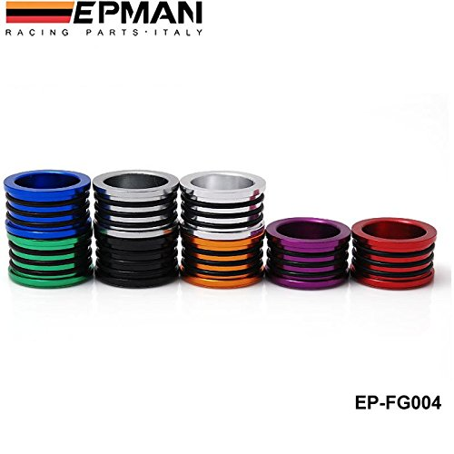 EPMAN Racing Engine Billet Cam Plug Seal For B16 B18 B20 H22 H23 F20 Engine Silver