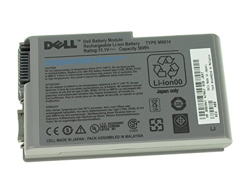 M9014 - NEW Dell OEM Original 53Wh D600 D610 D500 D505 D520 D530 500m 510m 600m D Series Battery - M9014 (Battery Series D500)