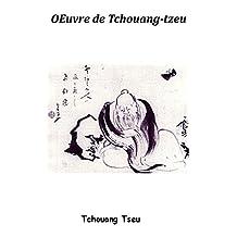 Œuvre de Tchoang-tzeu (French Edition)