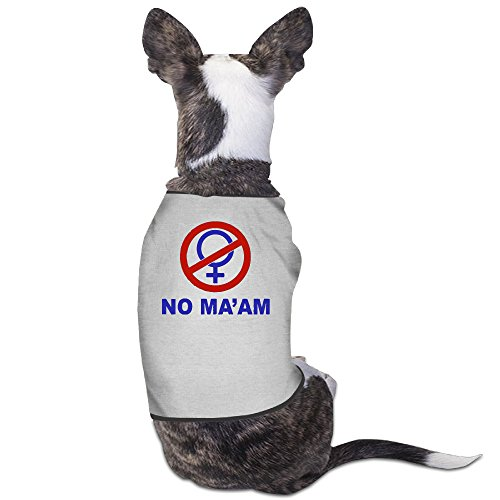 YRROWN NO MA'AM Dog Shirt
