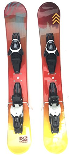 Summit ZR 88cm Skiboards Snowblades with Atomic L10 Release Bindings 2018 by Summit Skiboards