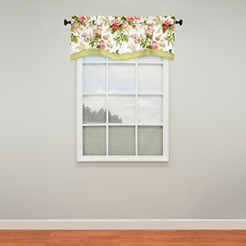 WAVERLY Emma's Garden Window Valance, 52x18, Blossom for sale  Delivered anywhere in USA
