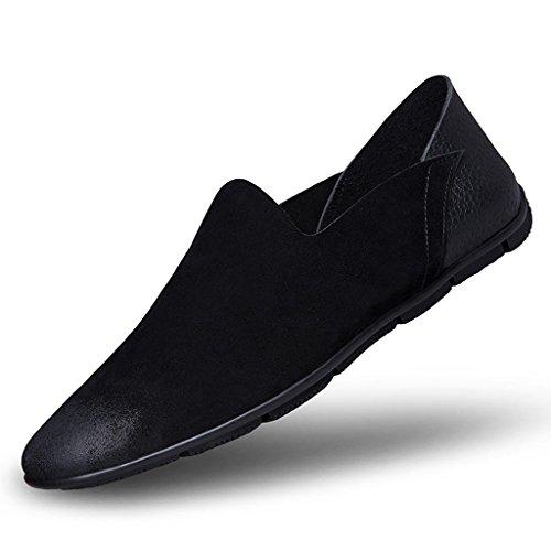 Black Zapatos Negocios Boda para Cuero Hombre Zapatos de de de Zapatos de Zapatos Scrub de Trabajo Zapatos Zapatos Ancianos UrqSU4