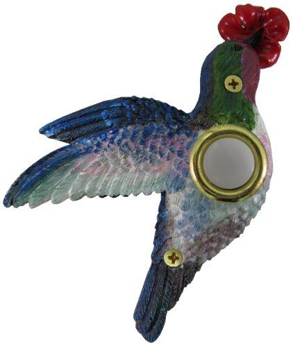 Waterwood Handpainted Hummingbird Doorbell ()