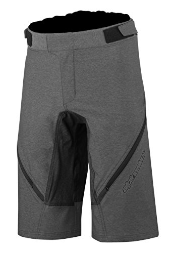 - Alpinestars Men's Bunny Hop Shorts, Melange Gray Dark Shadow, Size 34