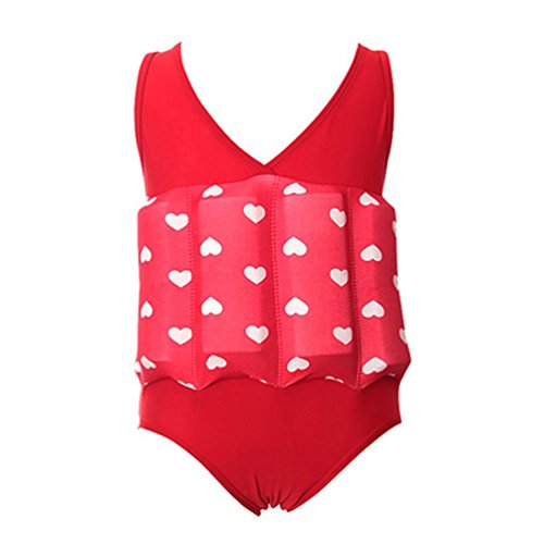 Ponce Fashion Toddler Baby Floating Vest Swimwear Detachable Buoyancy Swimsuit Training Set by Ponce Fashion