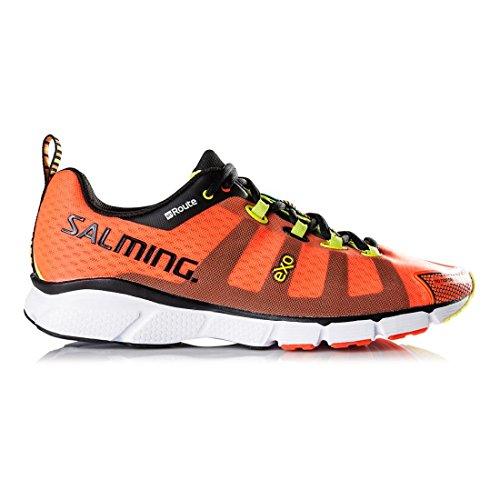Salming enRoute Shoe Men Magma Red orange/noir