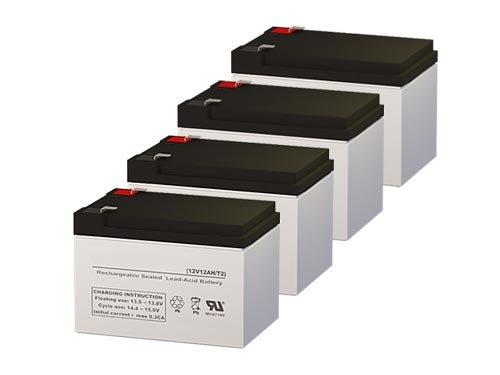 - 12v 12Ah F2 Terminal Sealed Lead Acid Battery (4 Pack)