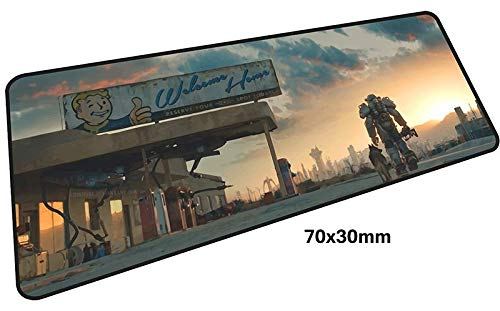 Price comparison product image Fallout 4 Gaming Mouse Pad 700x300mm (27.5x11.8 inchs) Pad to XL - Big Mousepad Extended Playing Fallout 76 by LP Chiel (#5)