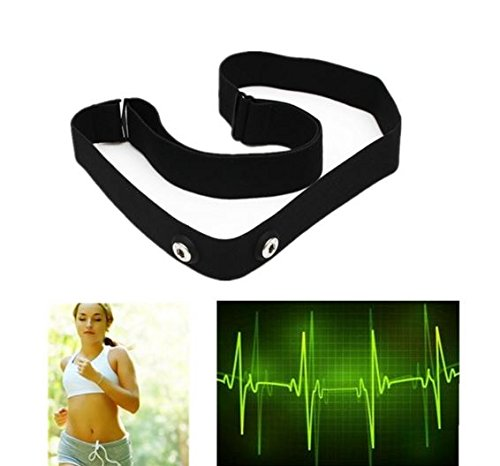 Elastic Chest Belt Strap for Wahoo Garmin Polar Sport Heart Rate Monitor by STCorps7