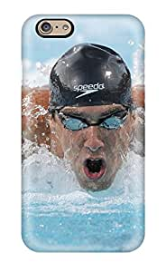 Fashionable Style Case Cover Skin For Iphone 6- Michael Phelps Poster
