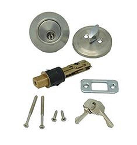 RV Trailer AP PRODUCTS Single Deadbolt With Keys Entry Door Lock 00