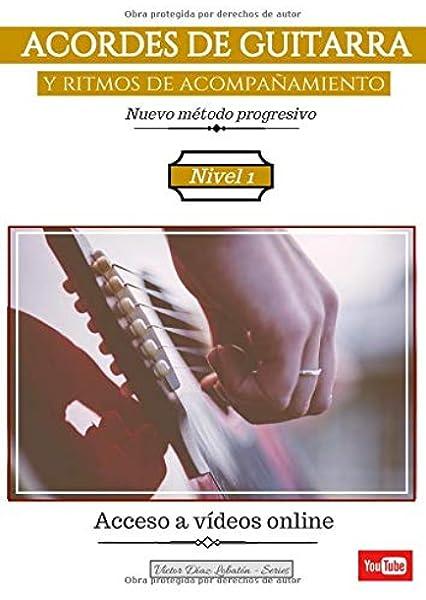 ACORDES DE GUITARRA y ritmos de acompañamiento: Nuevo método ...
