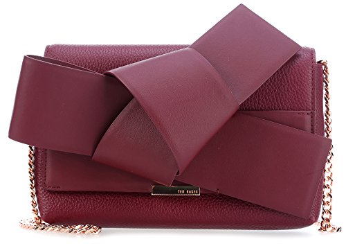 red Agentah bordeaux Bag Shoulder Bag Baker Ted Ted bordeaux Shoulder Agentah Baker qATTPw