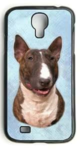 Custom Bull Terrier Hard Case Clip on Back Cover for Samsung S4 case wangjiang maoyi