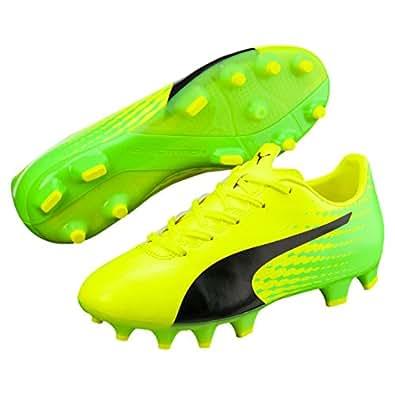 PUMA Boys Evospeed 17.4 Fg Jr Sy, Green, 13 US Football boots