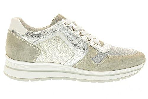 NERO GIARDINI Mujer sneakersi P717230D / 123 Plata