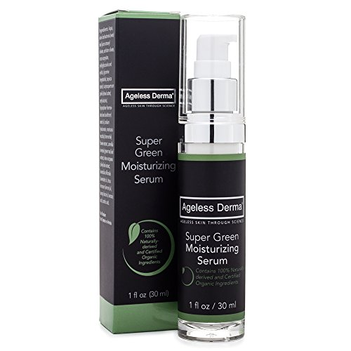 Ageless Derma Natural Face Moisturizer by Dr. Mostamand. A Natural Face Lotion and Non Toxic Face Cream for a Silky Skin